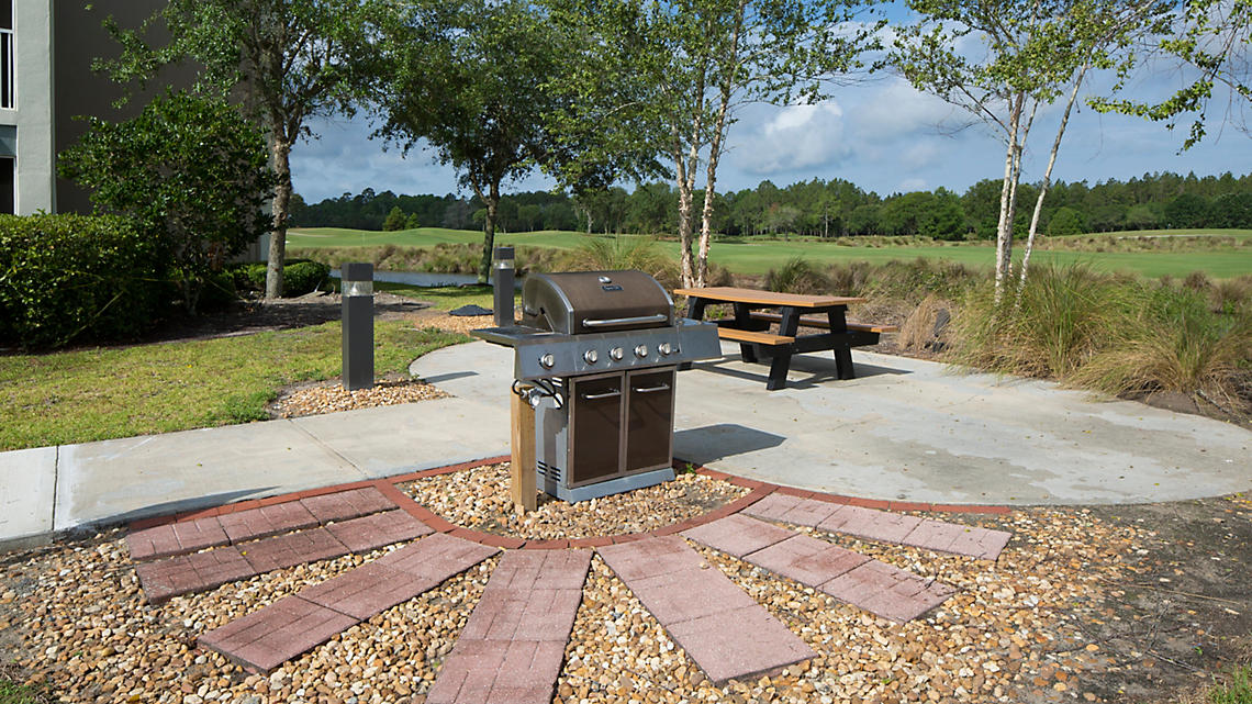 BBQ Grilling Area
