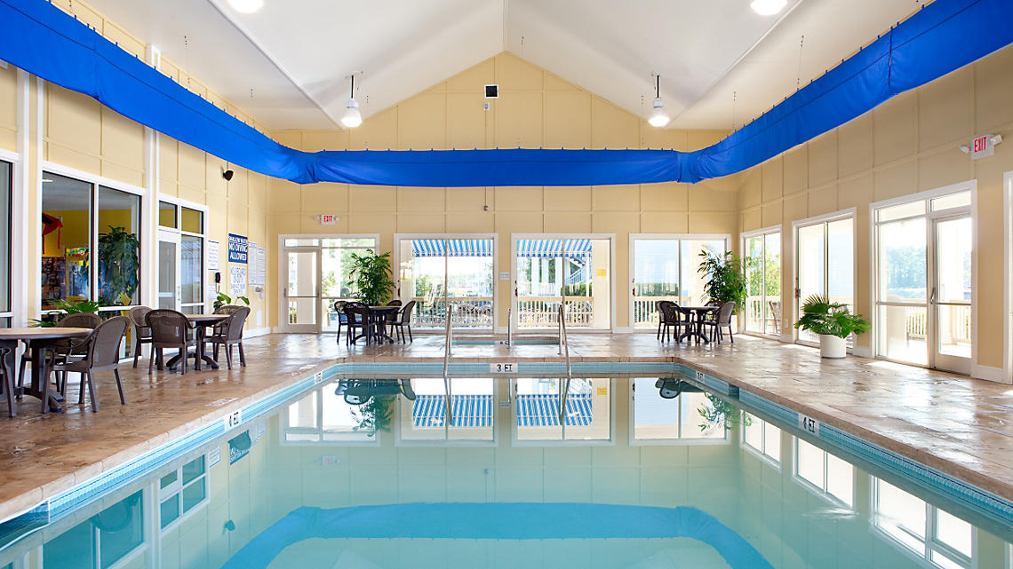 Indoor Pool And Clubhouse