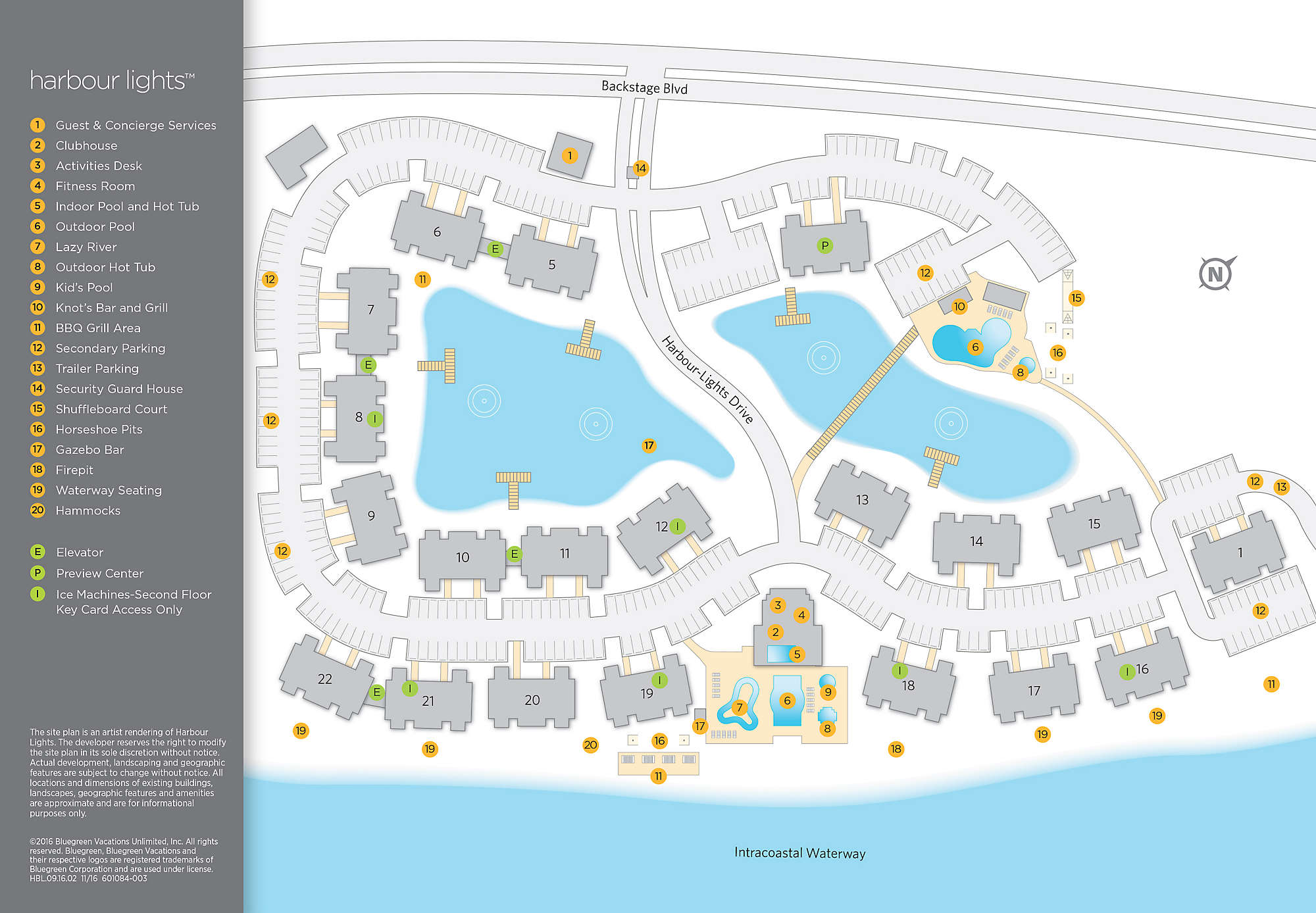 Harbour Lights™ Site Map Photo