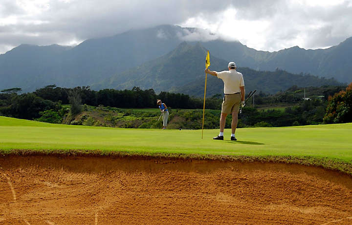 Putting Green in Hawaii