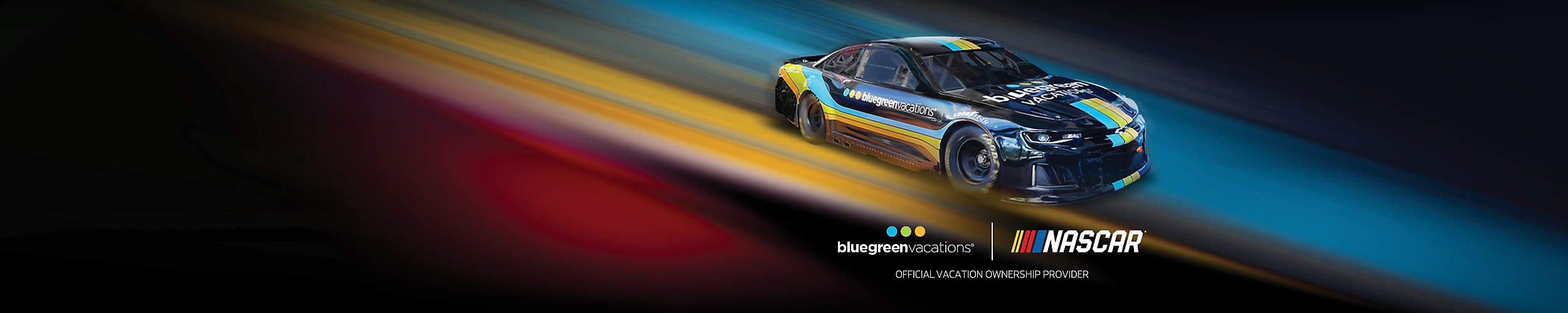 Bluegreen Vacations Official Partnership with Nascar