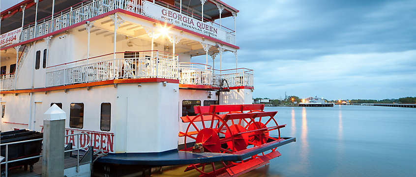Savannah, Georgia's Riverboat Cruise