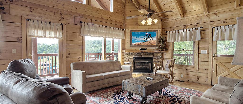 Rustic Family Getaway Cabin
