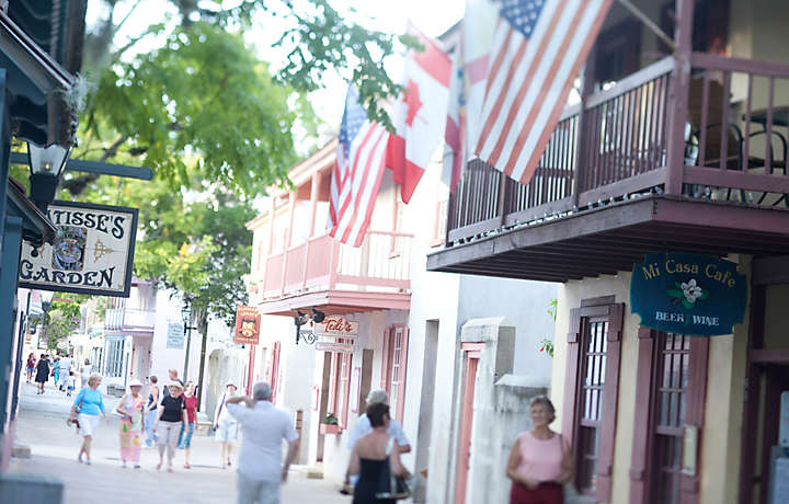 St. Augustine Shopping during Bluegreen Vacations