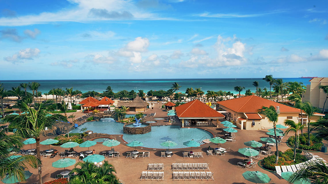 La Cabana Beach Resort and Casino amazing view of ocean and pool