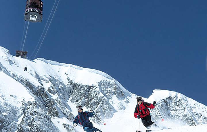 Mountain Skiing - Lake Condominiums at Big Sky