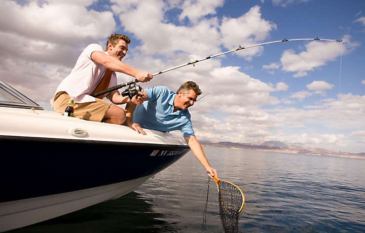 Vacation in vegas bluegreen vacations for Fishing las vegas