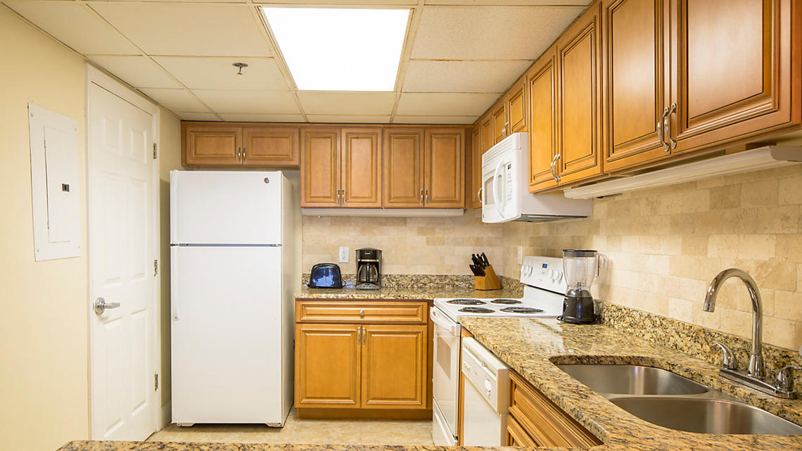 One Bedroom Townhome Kitchen