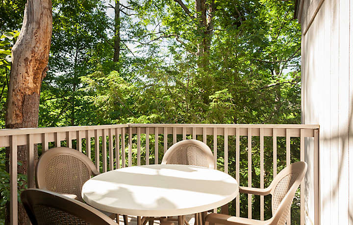 Laurel Crest™ 1 Bed Townhome Balcony View
