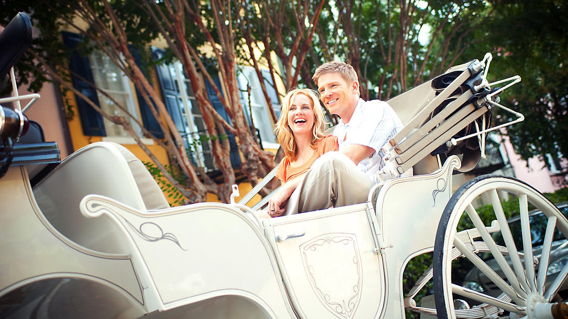 Charleston Carriage Ride Tour