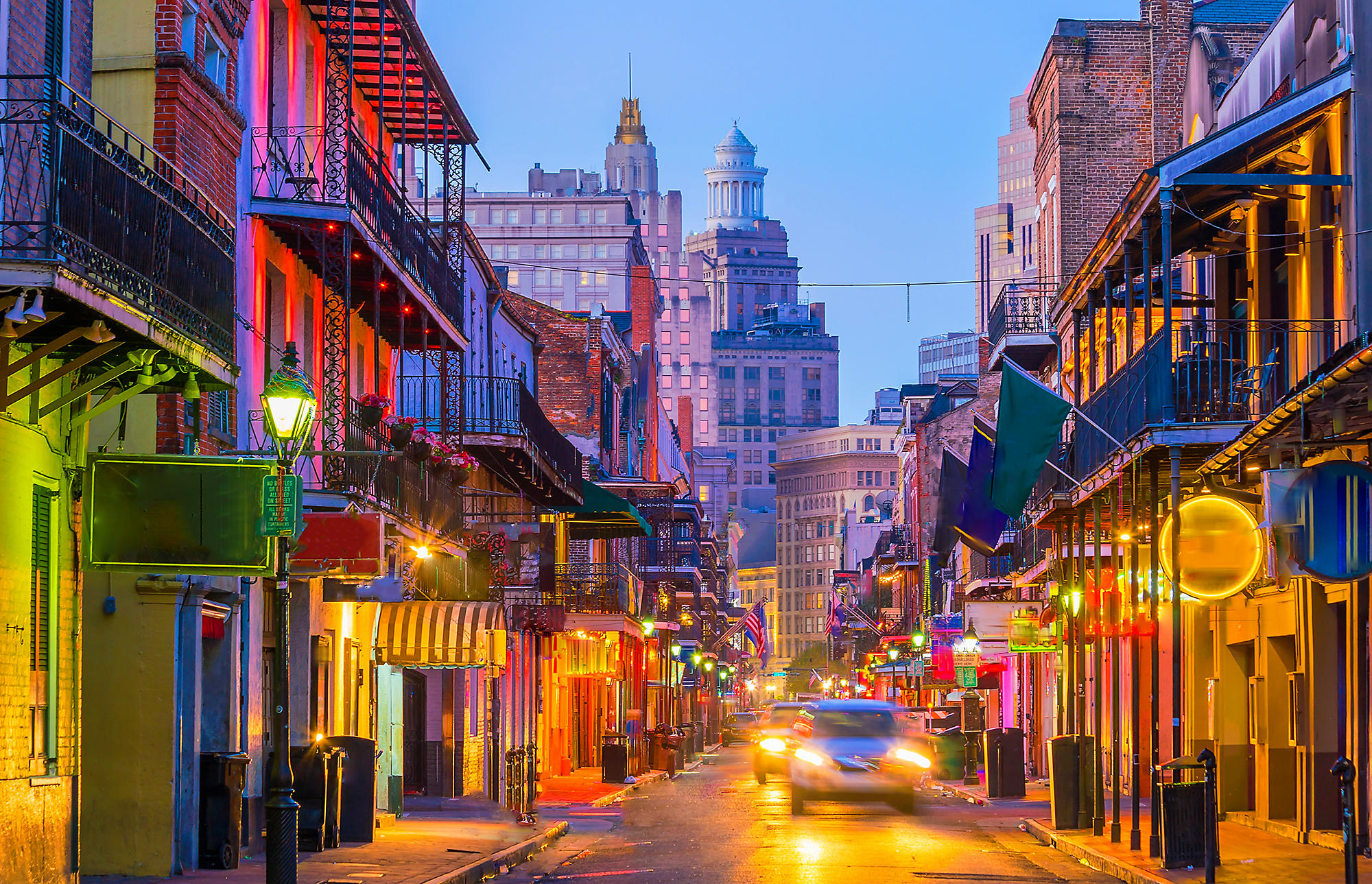 Let the Good Times Roll in The Big Easy