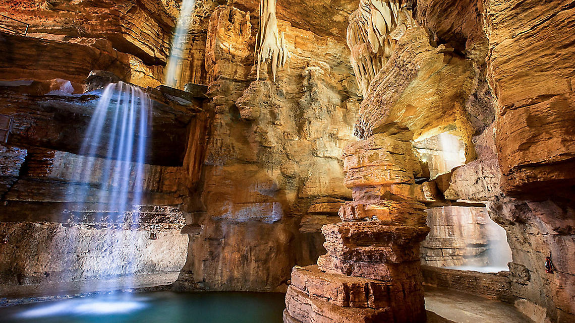 Discover beauty and wonder in the Lost Canyon Caves.