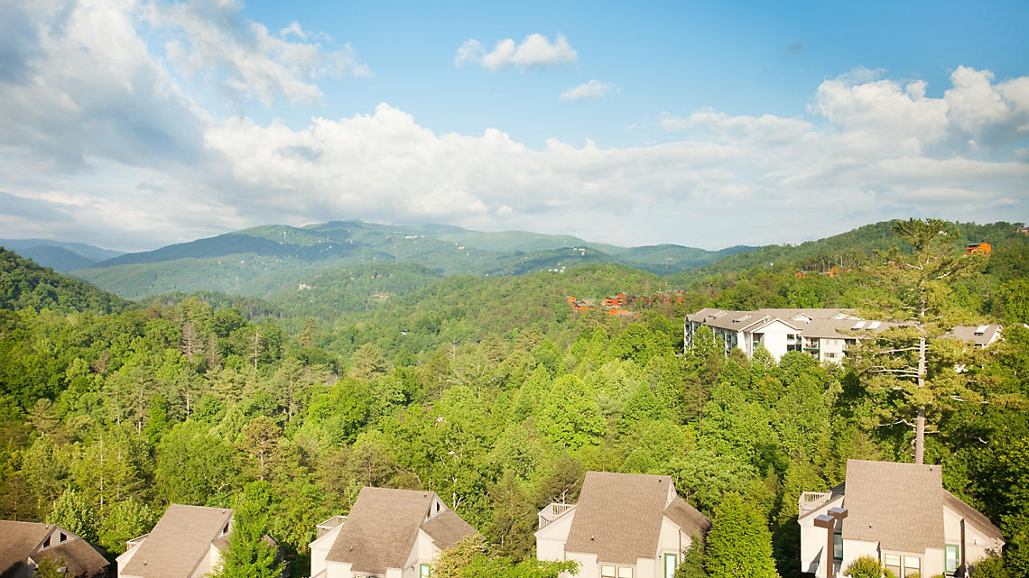 View of Smoky Mountains from MountainLoft