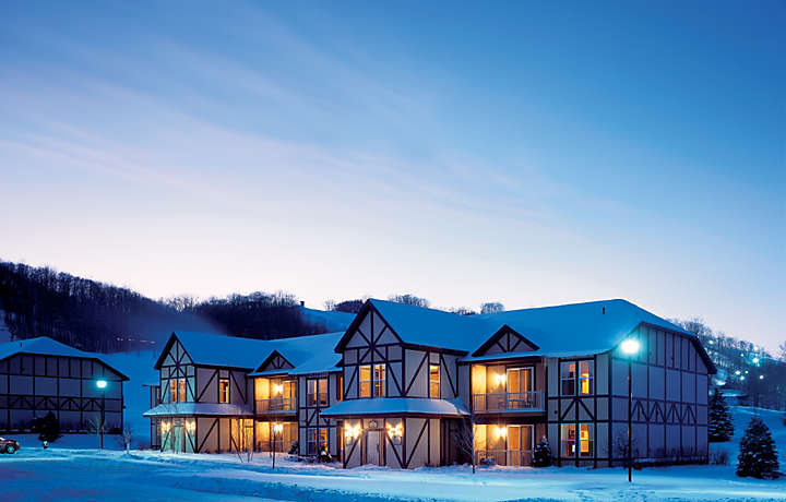 Mountain Run at Boyne™ Winter Exterior
