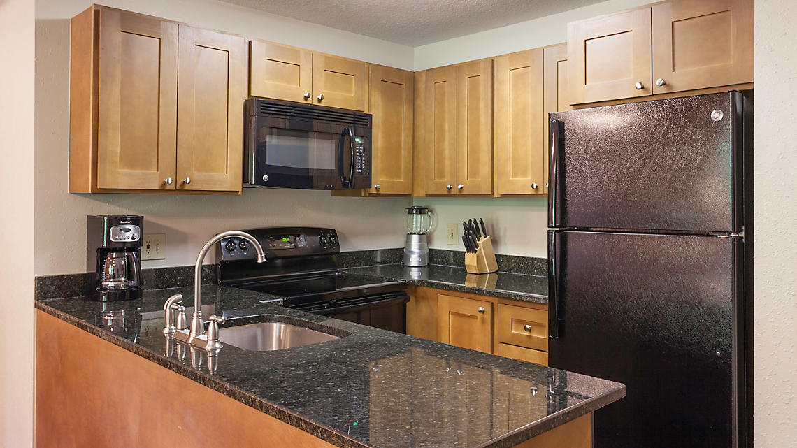2 Bedroom Townhome Kitchen