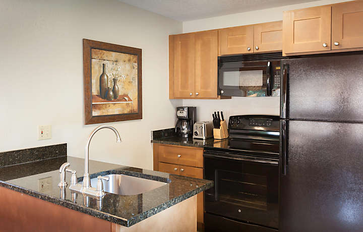 MountainLoft™ 1 Bed Townhome Kitchen