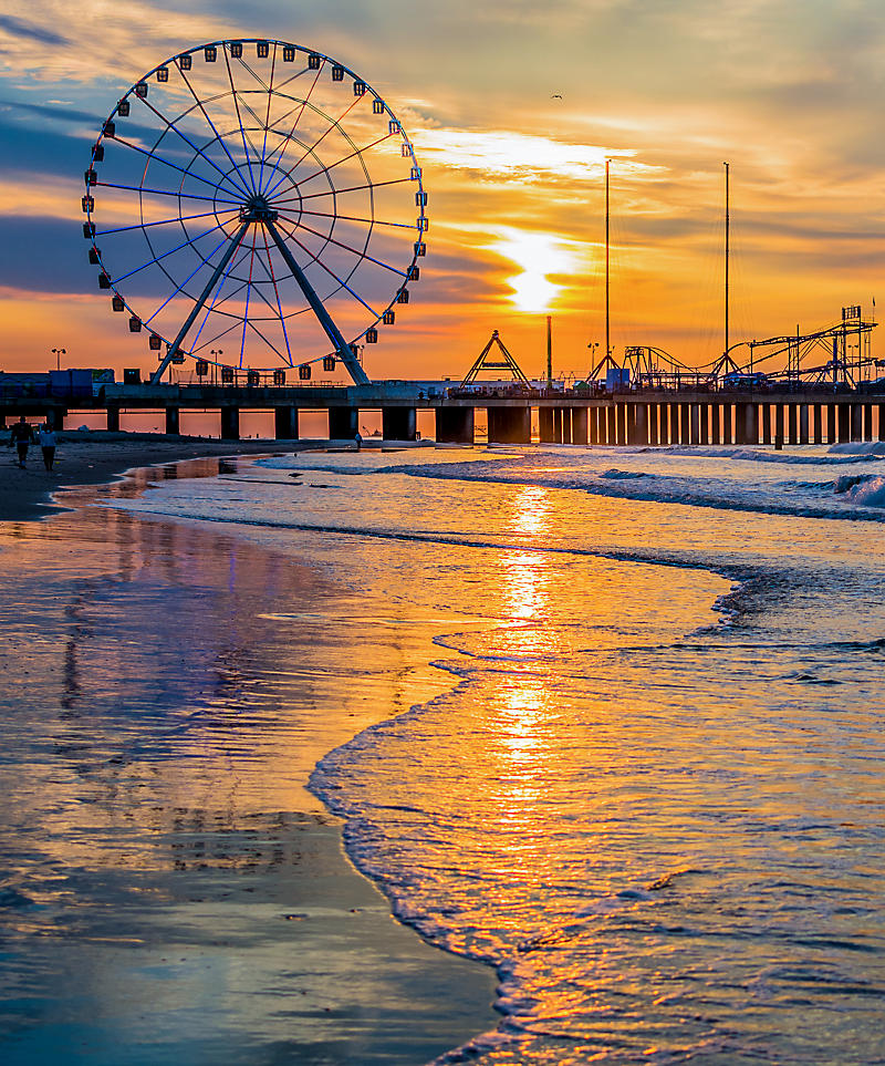 New Jersey Atlantic City Steel Pier Ferris Wheel