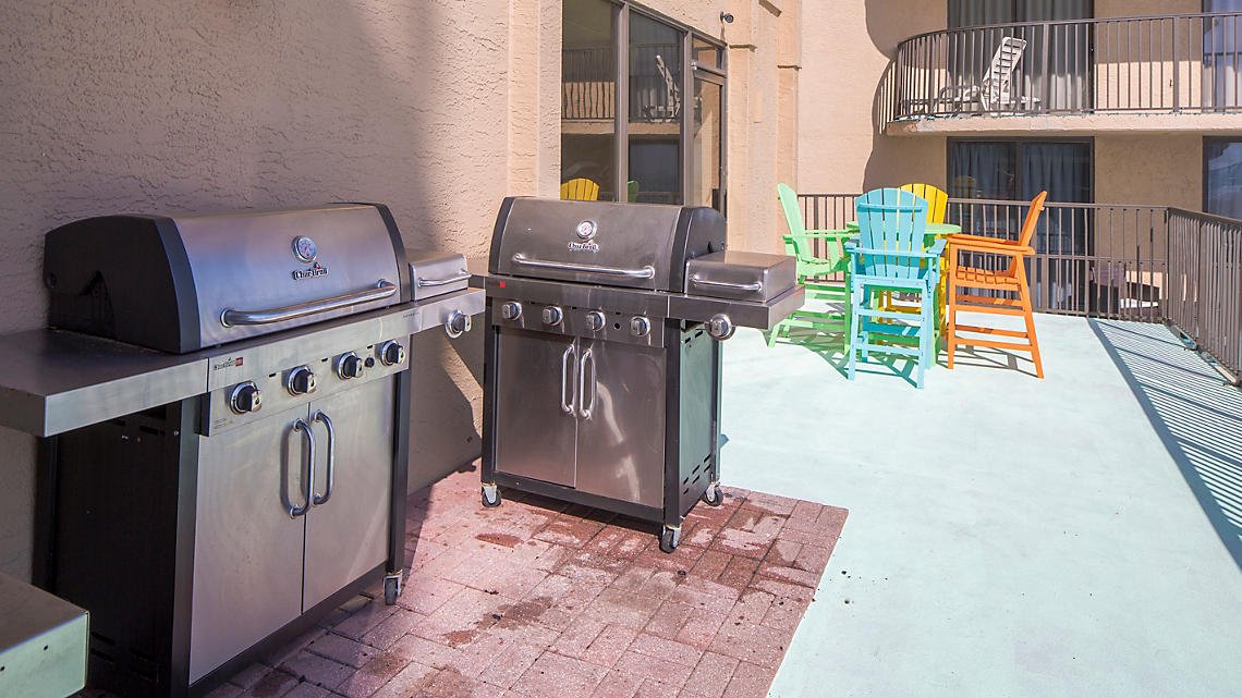 BBQ Grills and Picnic Area