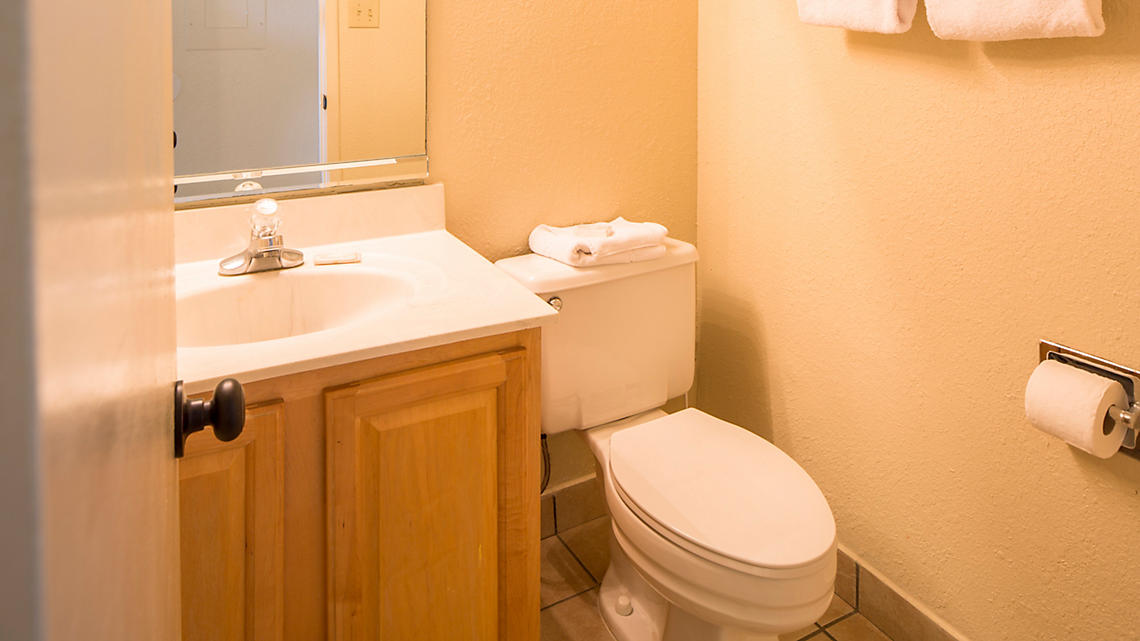One and Two Bedroom Guest Bath