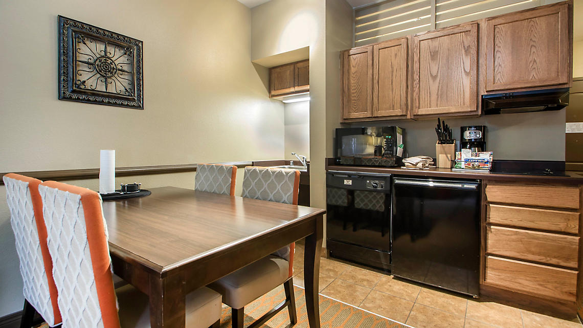 2 Bedroom Kitchen and Dining Area ADA