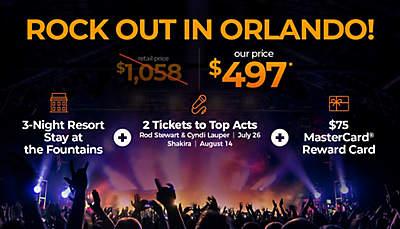 Orlando Live Music Getaway