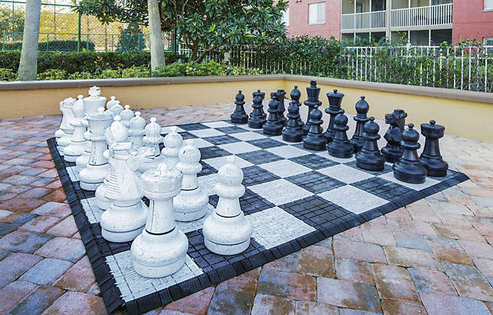 Orlando's Sunshine Resort™ Outdoor Chess
