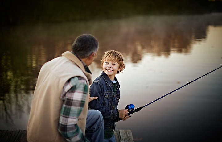 Shenandoah Crossing™ Father Son Fishing