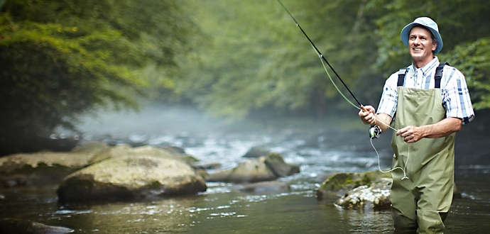 Laurel crest bluegreen vacations for Pigeon forge fishing