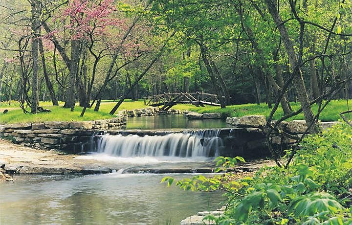 Branson MO Creek - The Falls Village™
