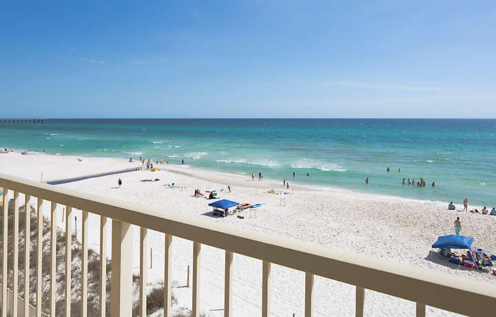 Panama City Resort Club Balcony Beach Views