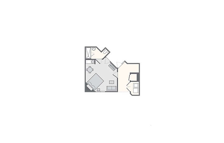 250 Ft Studio Apartment Floor Plans