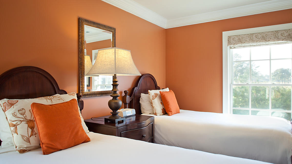 Chesapeake Presidential Guest Bedroom