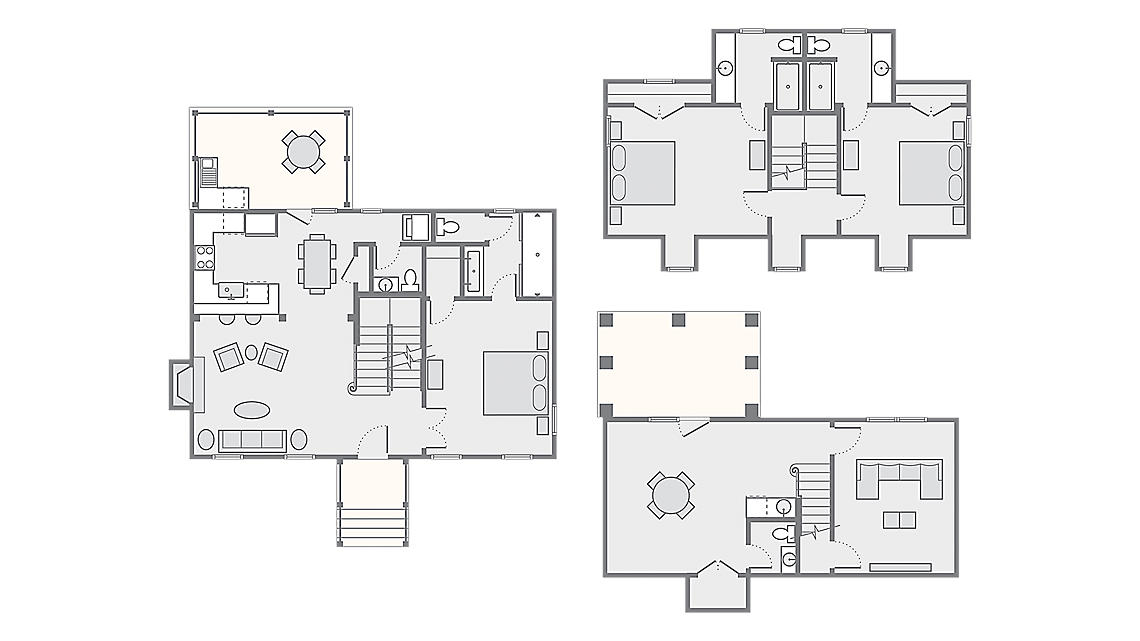 3 Bedroom Presidential - York 2,270 SQ FT