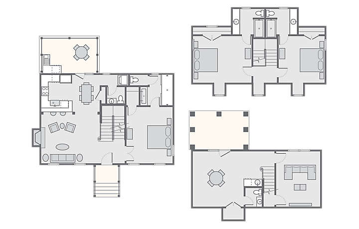 Parkside williamsburg resort bluegreen vacations - 2 bedroom suites in chesapeake va ...