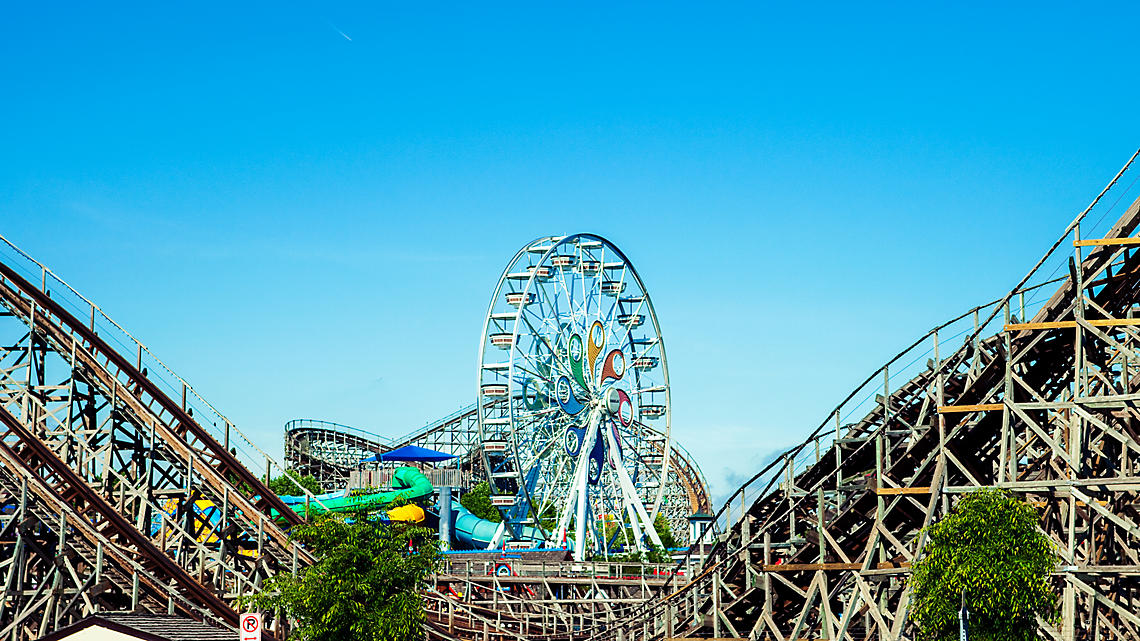 Hersheypark is home to 13 thrilling coasters