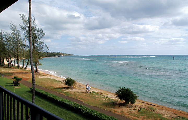 Balcony View of Coast - Pono Kai Resort