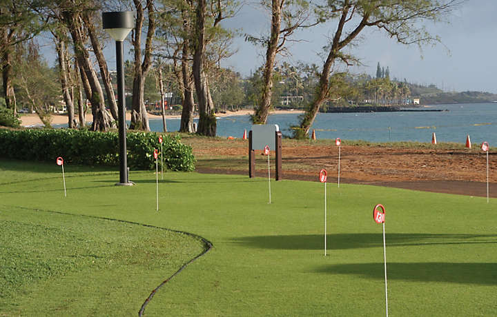 Practice Putting Green - Pono Kai Resort