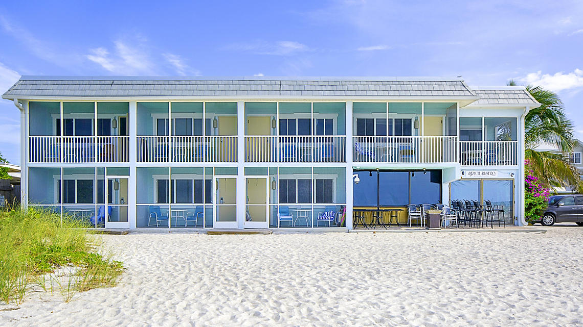 Resort Sixty Six exterior beach view