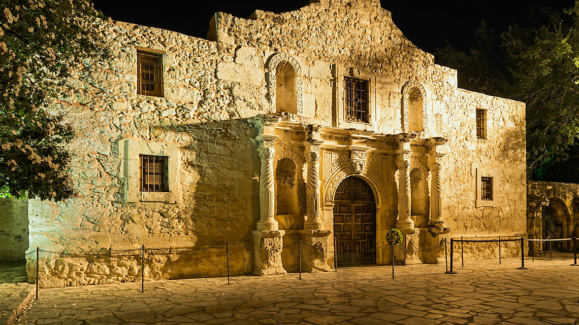 Take in the history of The Alamo