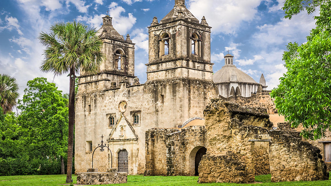 Attend a mass at Mission Concepcion