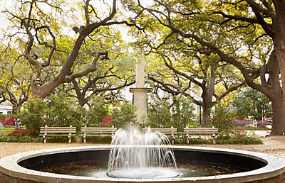 Fountain in Savannah