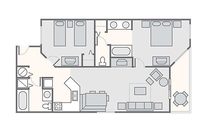 S Crest Vacation Villas I Ii 2 Bedroom Oceanview
