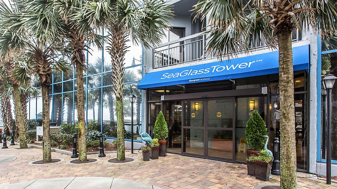 SeaGlass Tower Exterior Entrance
