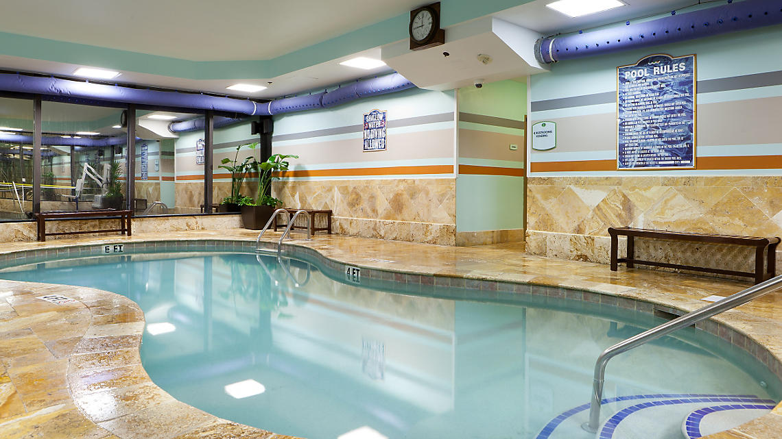 SeaGlass Tower Indoor Pool
