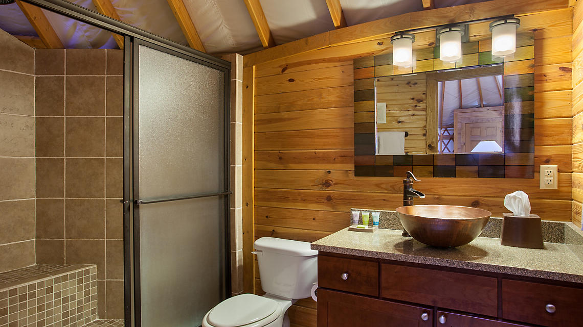 2 Bedroom Yurt Bath