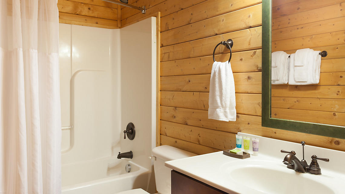 3 Bedroom Cabin Guest Bath