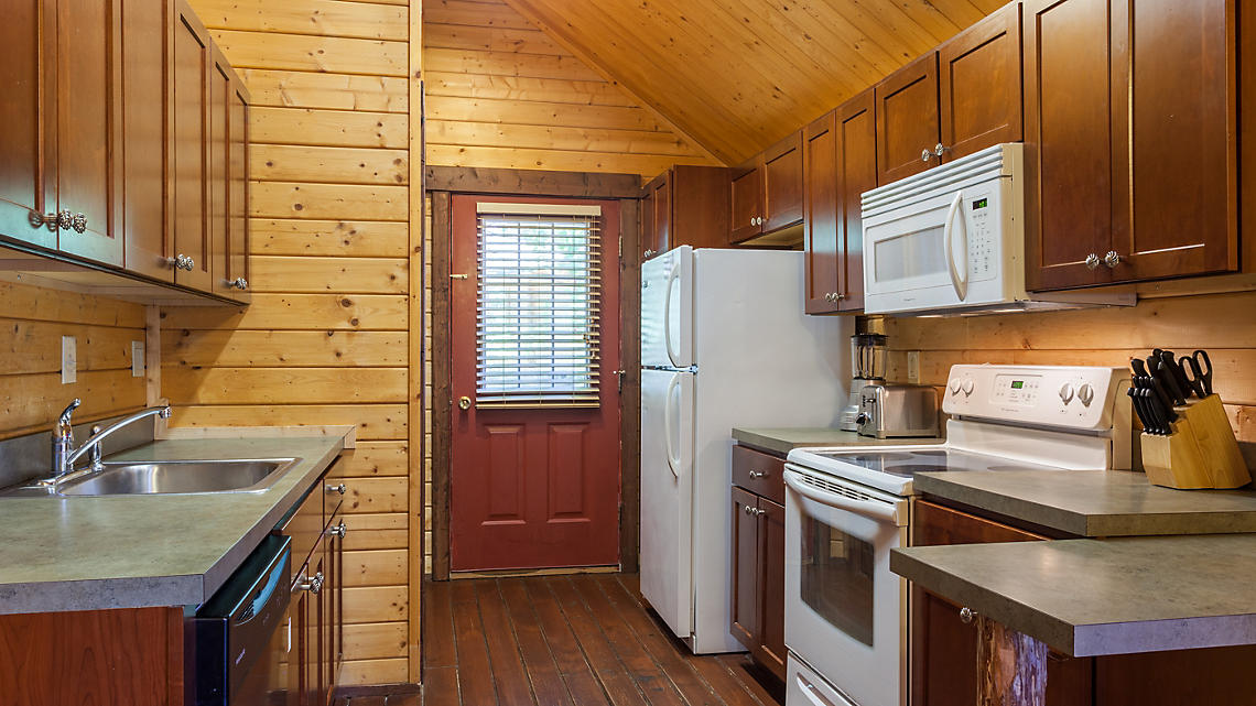 3 Bedroom Cabin Kitchen