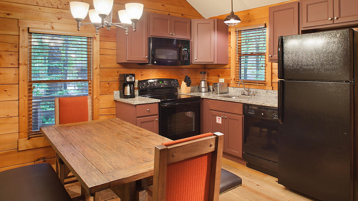 Cabin Kitchen Dining