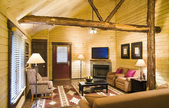 Interior of Cabin - Shenandoah Crossing™