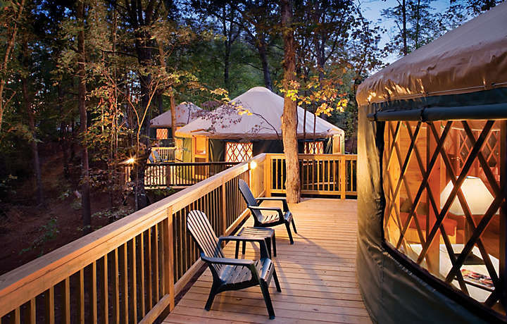 Shenandoah Crossing™ Luxury Yurts